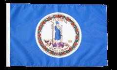 Drapeau USA US Virginia avec ourlet