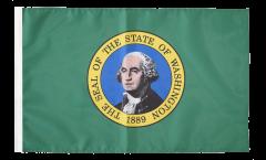 Drapeau USA US Washington avec ourlet