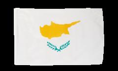 Drapeau Chypre avec ourlet