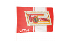 Drapeau 1.FC Union Berlin seit 1966 sur hampe