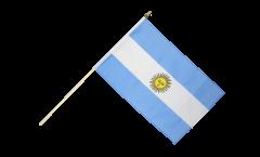 Drapeau Argentine sur hampe