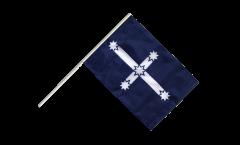 Drapeau Australie Eureka 1854 sur hampe