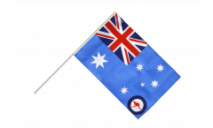 Drapeau Australie Royal Australian Air Force sur hampe