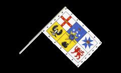 Drapeau Australie Royal Standard sur hampe
