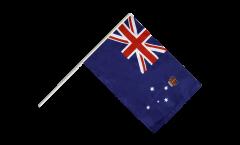 Drapeau Australie Victoria sur hampe