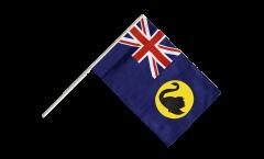 Drapeau Australie Western sur hampe