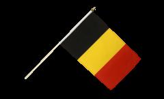 Drapeau Belgique sur hampe