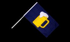 Drapeau Bière sur hampe