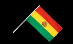 Drapeau Bolivie sur hampe