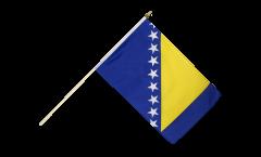 Drapeau Bosnie-Herzégovine sur hampe