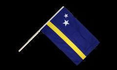 Drapeau Curaçao sur hampe