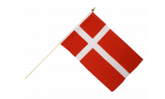 Drapeau Danemark sur hampe
