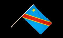 Drapeau République démocratique du Congo sur hampe