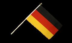 Drapeau Allemagne sur hampe - 30 x 45 cm