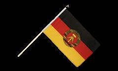 Drapeau Allemagne RDA sur hampe