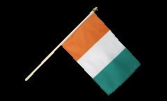 Drapeau Côte d'Ivoire sur hampe
