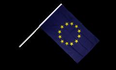 Drapeau Union européenne UE sur hampe