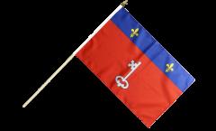 Drapeau France Angers sur hampe