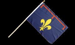 Drapeau France Provence sur hampe - 30 x 45 cm