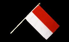 Drapeau Indonésie sur hampe