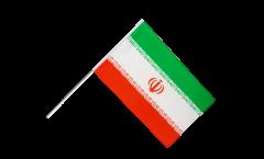 Drapeau Iran sur hampe