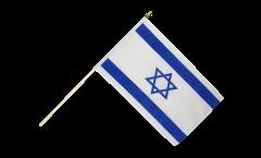 Drapeau Israël sur hampe
