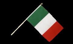 Drapeau Italie sur hampe - 30 x 45 cm