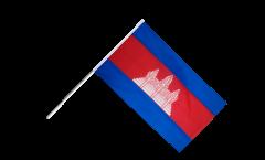 Drapeau Cambodge sur hampe