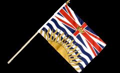 Drapeau Canada Colombie-Britannique sur hampe