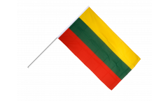 Drapeau Lituanie sur hampe