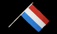 Drapeau Luxembourg sur hampe