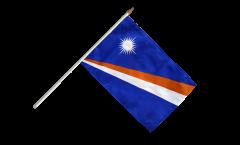 Drapeau Îles Marshall sur hampe