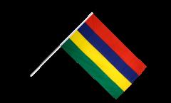 Drapeau Île Maurice sur hampe