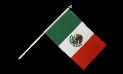 Drapeau Mexique sur hampe