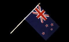 Drapeau Nouvelle-Zélande sur hampe