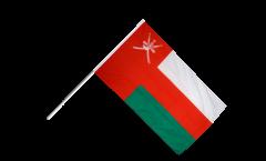 Drapeau Oman sur hampe