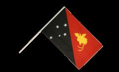 Drapeau Papouasie-Nouvelle-Guinée sur hampe