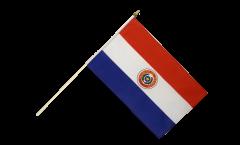 Drapeau Paraguay sur hampe