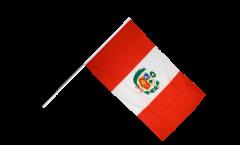 Drapeau Pérou sur hampe