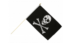 Drapeau Pirate sur hampe