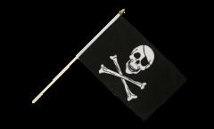 Drapeau Pirate sur hampe