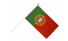 Drapeau Portugal sur hampe - 30 x 45 cm