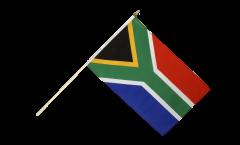 Drapeau Afrique du Sud sur hampe