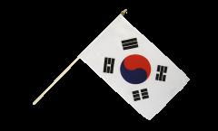 Drapeau Corée du Sud sur hampe