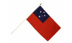 Drapeau Samoa sur hampe
