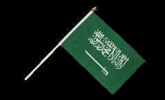 Drapeau Arabie Saoudite sur hampe