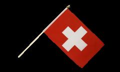 Drapeau Suisse sur hampe