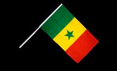 Drapeau Sénégal sur hampe