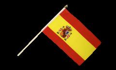 Drapeau Espagne sur hampe - 30 x 45 cm