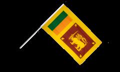 Drapeau Sri Lanka sur hampe